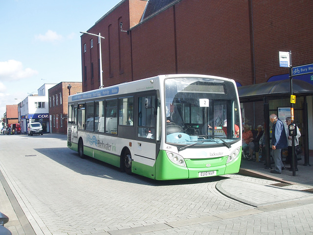 DSCF5237 Stephensons EU10 NVP in Bury St. Edmunds - 22 Sep 2016