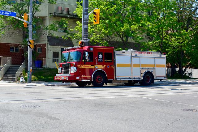 Canada 2016 – Toronto – Fire Engine