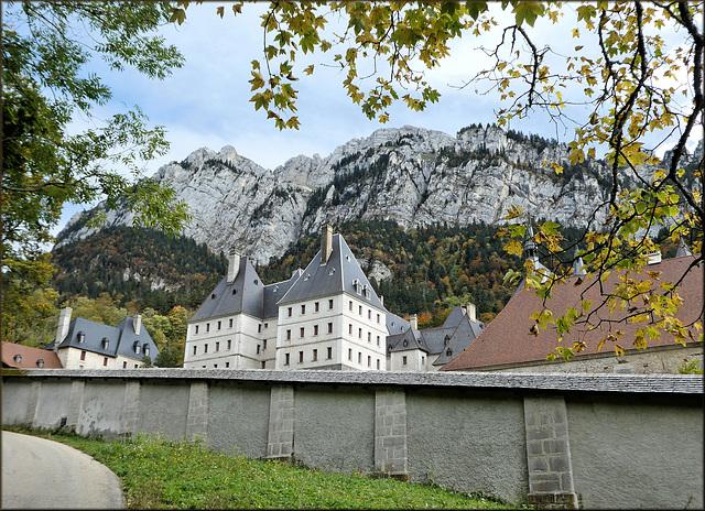 Monastère de la Grande Chartreuse (38) 17 octobre 2019.