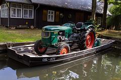 Wie man einen Traktor transportiert ...