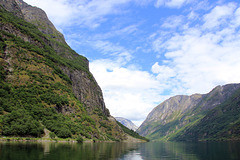 Nærøyfjorden in summer