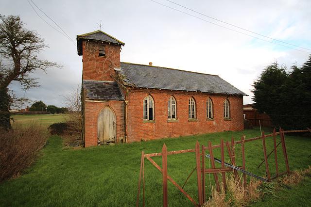Saint Luke's Church, Wainfleet Bank, Lincolnshire (now abandoned)