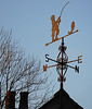 Weather vane at Pempwell