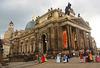 Dresdner Kunstakademie von der Brühlschen Terrasse aus