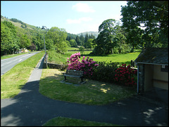 Grasmere seat and bus shelter
