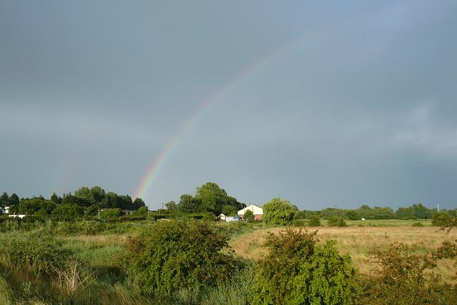 Rainbow Over Burgh Castle