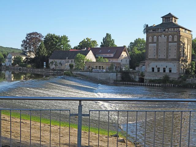 Das Wehr und die alte Mühle