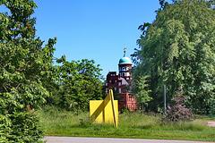 Wiligrad, Blick zum Schloss