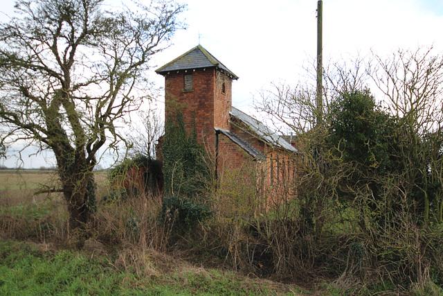 Satin Luke's Church, Wainfleet Bank, Lincolnshire (now abandoned)