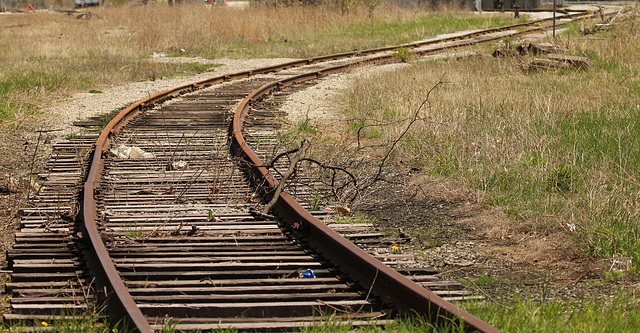some of the old rail line