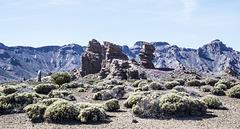 Cañadas del Teide (sobre fondo negro)