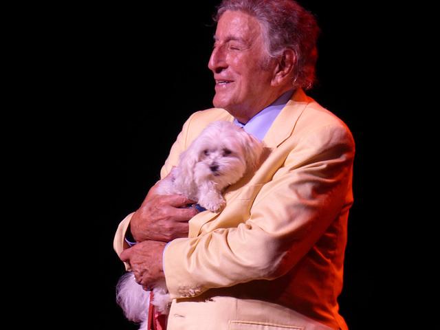 Tony & pup