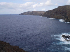 Beholding the west coast of Porto Santo Island.