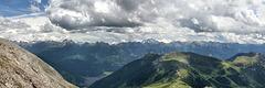 Panoramablick von der Pisahütte
