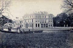 Lockington Hall, Leicestershire a c1880 cabinet card