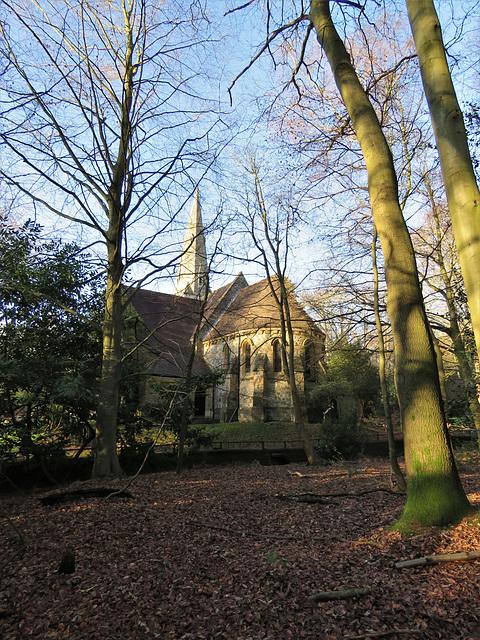 high beech church, essex (1)