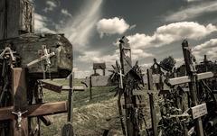 La colline des croix...
