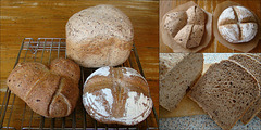 Meergranen-spelt bierbrood
