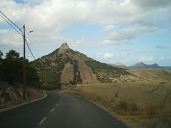 Ana Ferreira Peak (283 metres high).