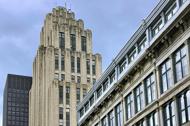 The Aldred Building – Notre-Dame Street at Place d'Armes, Montréal, Québec