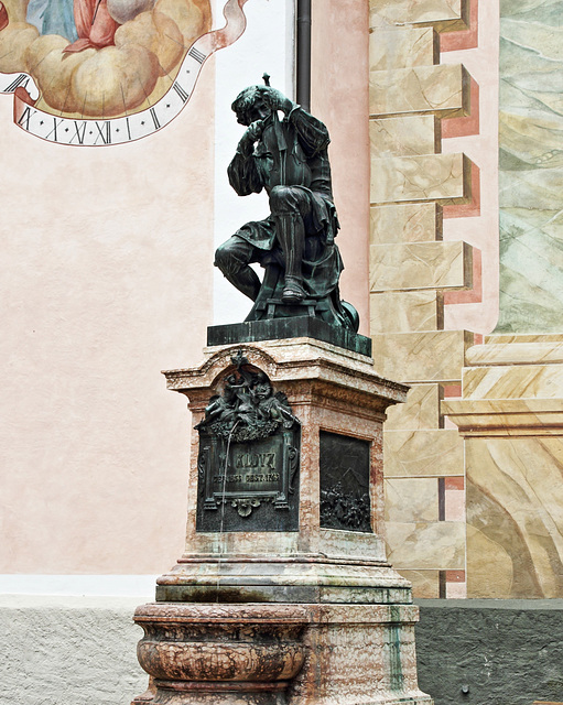 Matthias Klotz Denkmal