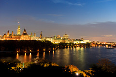 Canada - Ottawa, view from Nepean Point