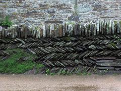 Stein-Mauer