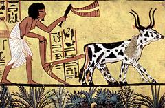 Un Laboureur (1200 ans avant Jésus-Christ)