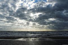abends am Strand bei Ahrenshoop (© Buelipix)