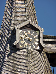 Kirchturm in Estebrügge