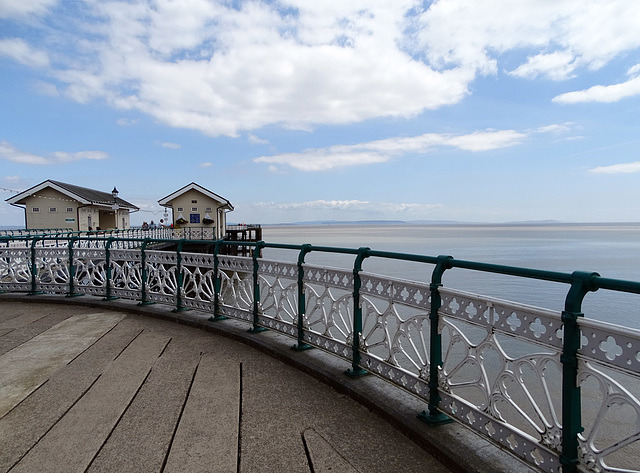 HFF from Penarth Pier