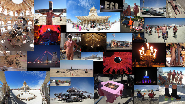 Burning Man 2012 Collage