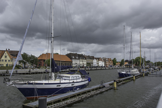 (190/365) Glückstadt, Binnenhafen