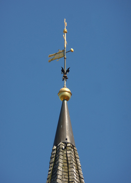 Kirchturmspitze St. Martini in Estebrügge