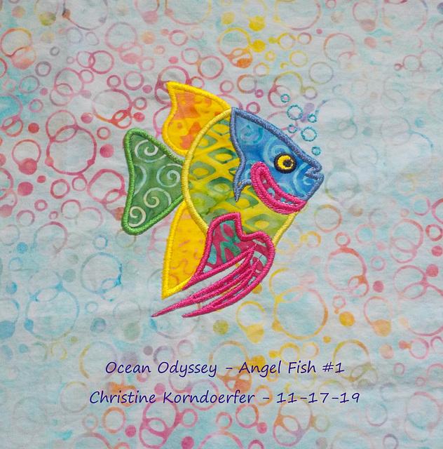 Ocean Odyssey - Angel Fish #1 - Nov 17, 19