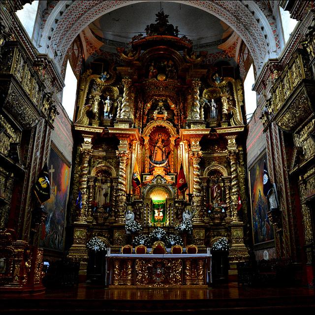 Baroque colonial.
