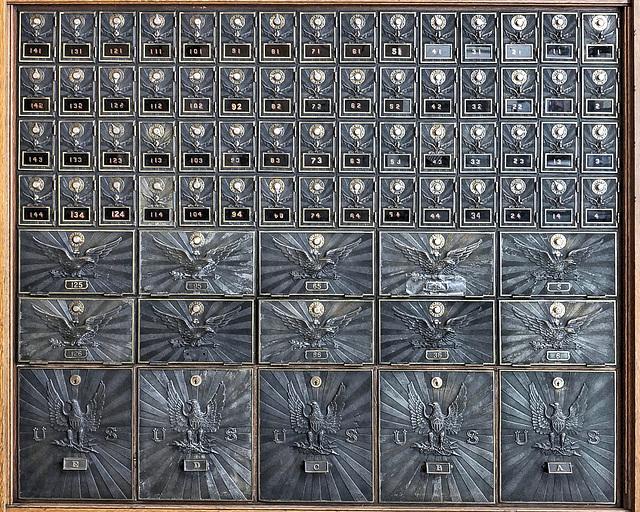 P.O. Boxes – United States Post Office, Main Street, Jerome, Arizona