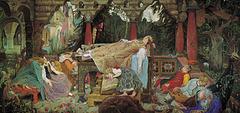 La Belle au Bois dormant, œuvre de Victor Vasnetsov