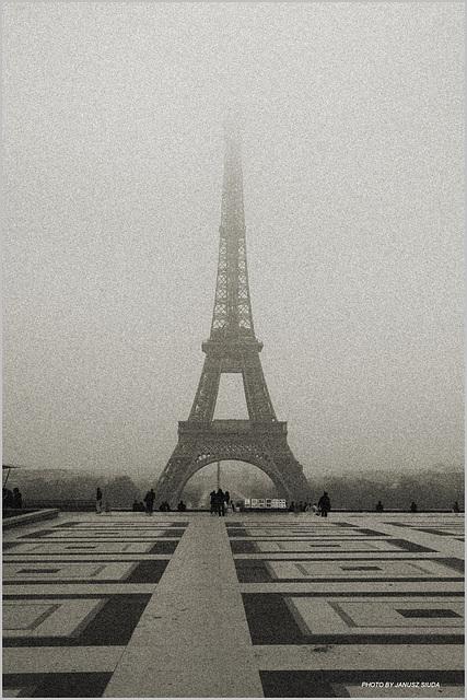 Parisian haze...