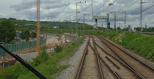Stuttgart - Nord -Baustelle S21