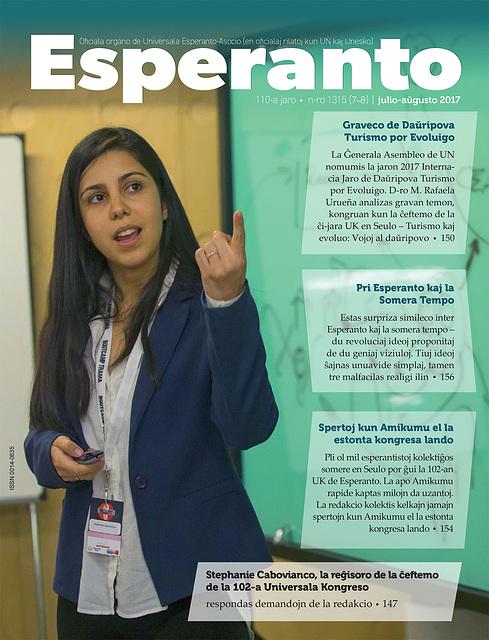 Nova numero de Esperanto