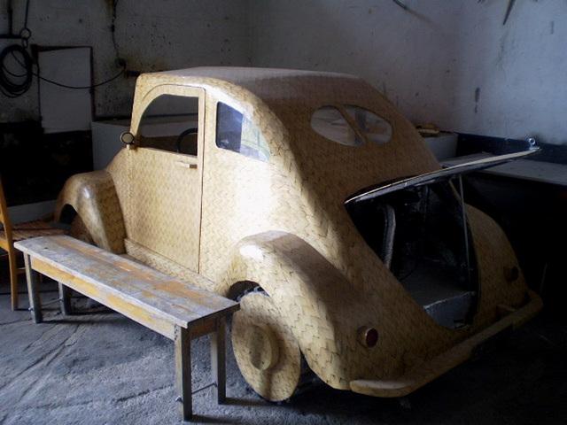 Replica of Volkswagen (early 1950's).