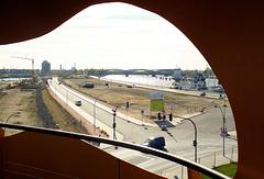 Blick vom ViewPoint Richtung Elbbrücken