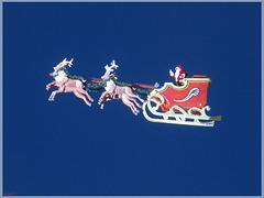 Der fliegende Weihnachtsmann / The flying Santa Claus [PiP]