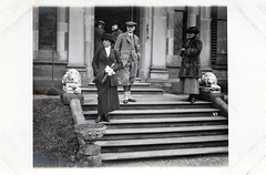 Foston Hall, Derbyshire, Hunt meet 29th November, 1920