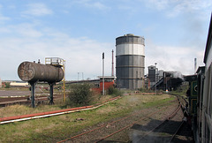 Gas, water and steel