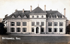 Bitteswell Hall, Leicestershire (Demolished)