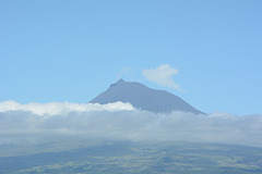 Azores, The Top of the Volcano of Pico (2351 m)