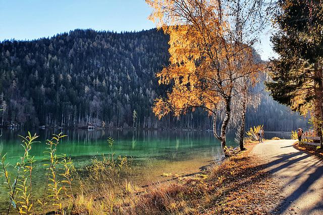 Lake Hinterstein (Tyrol, AT)