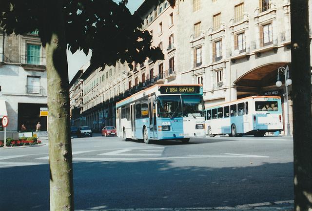 EMT (Palma de Mallorca) 434 and 856 - 28 Oct 2000